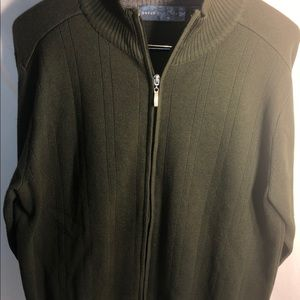 Oscar De La Renta Full Zip Sweater. Sz: Medium